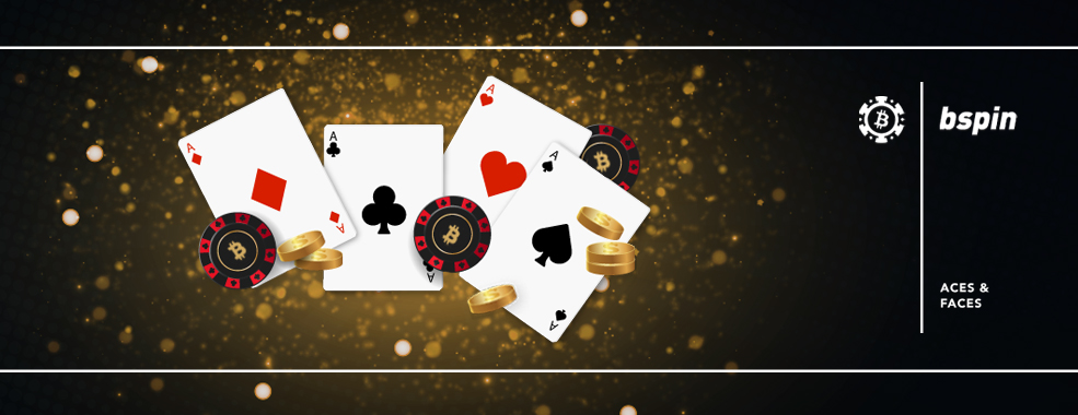 Aces and faces casino game
