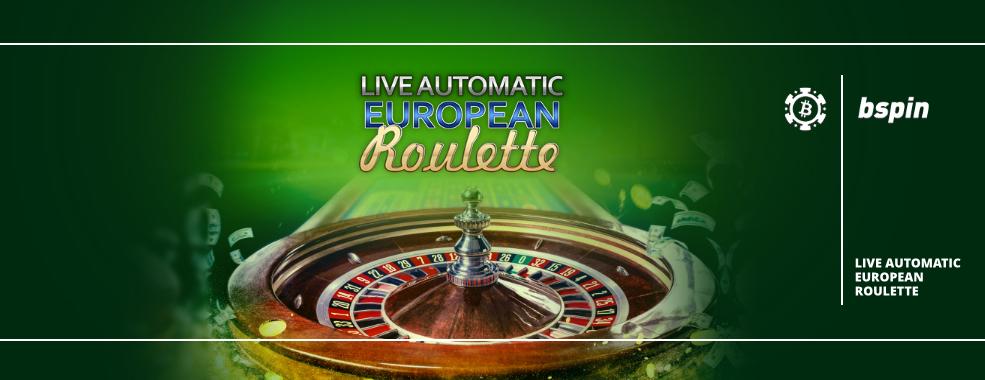 Live European Roulette