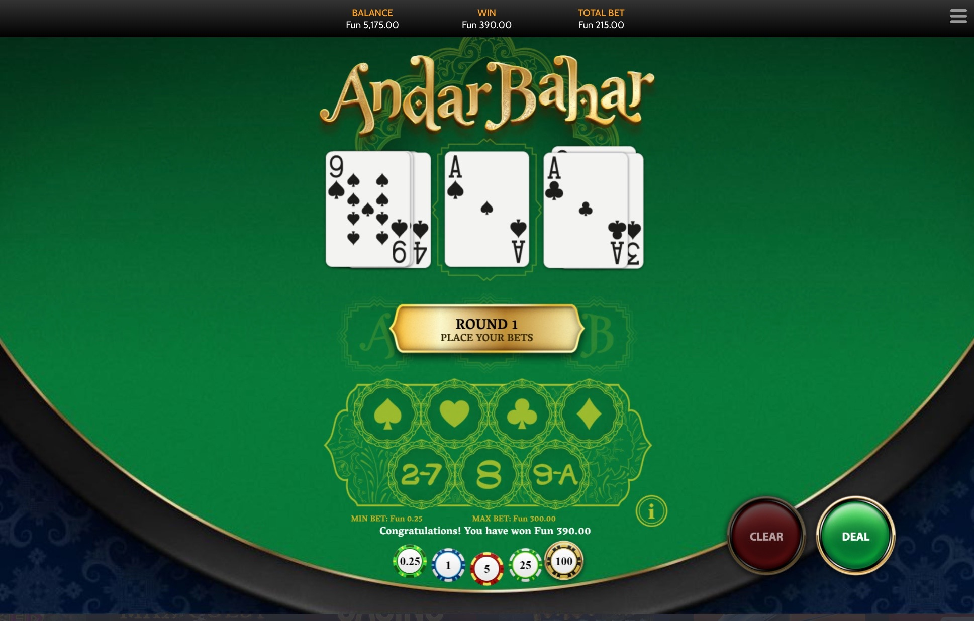 Andar Bahar On Bspin