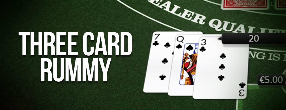 Three Card Rummy Card Game