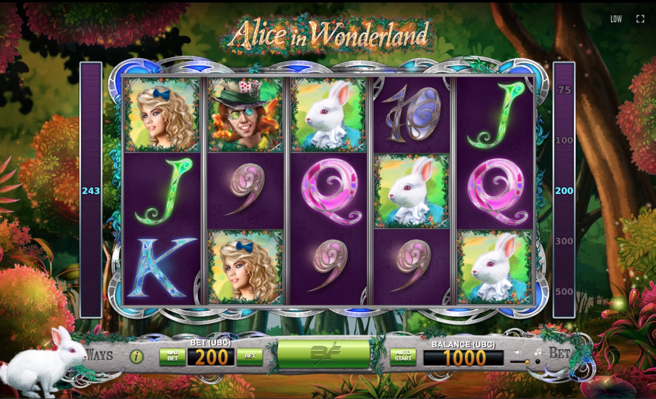How to play Alice in Wonderland