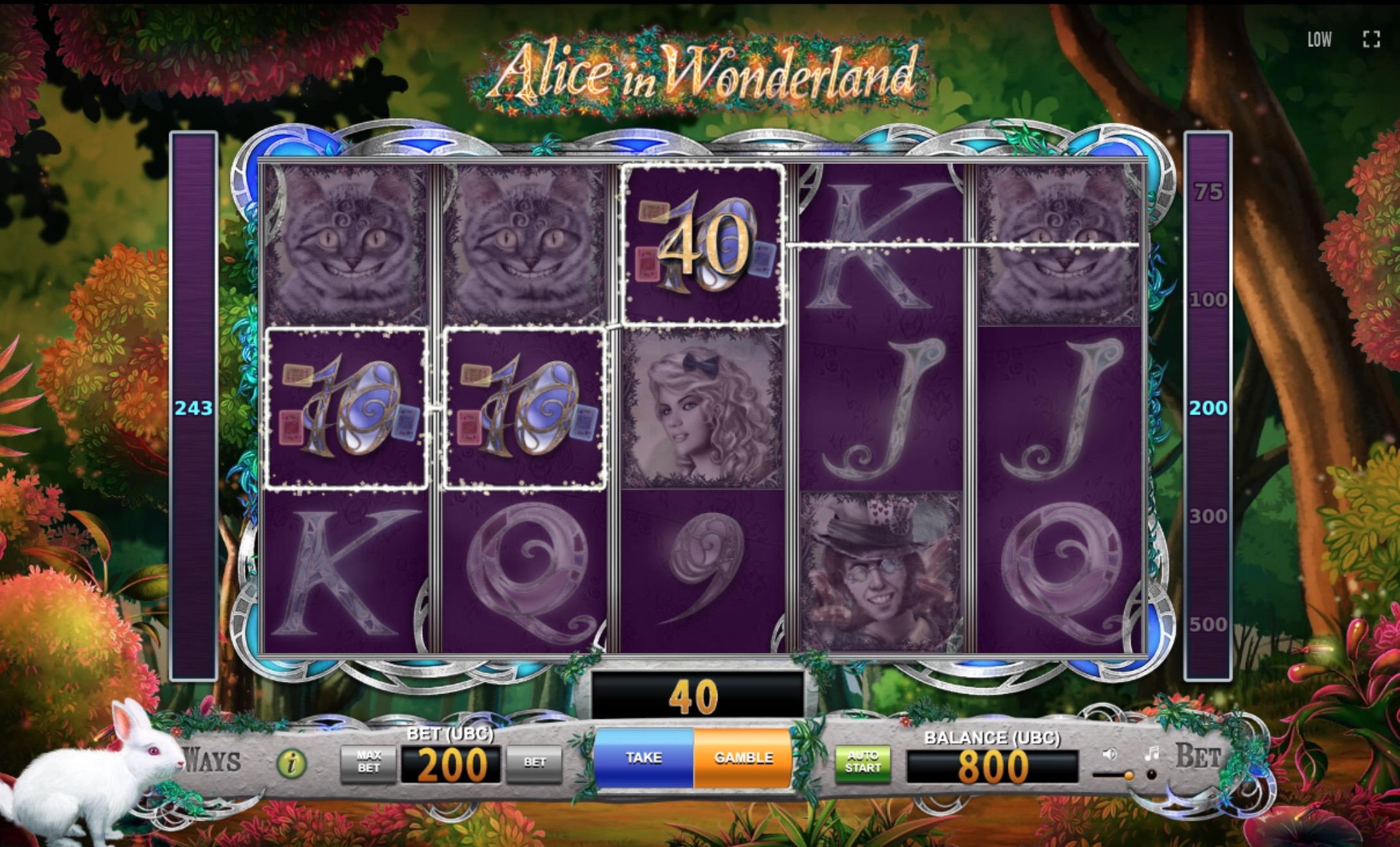 Alice in wonderland bspin gameplay