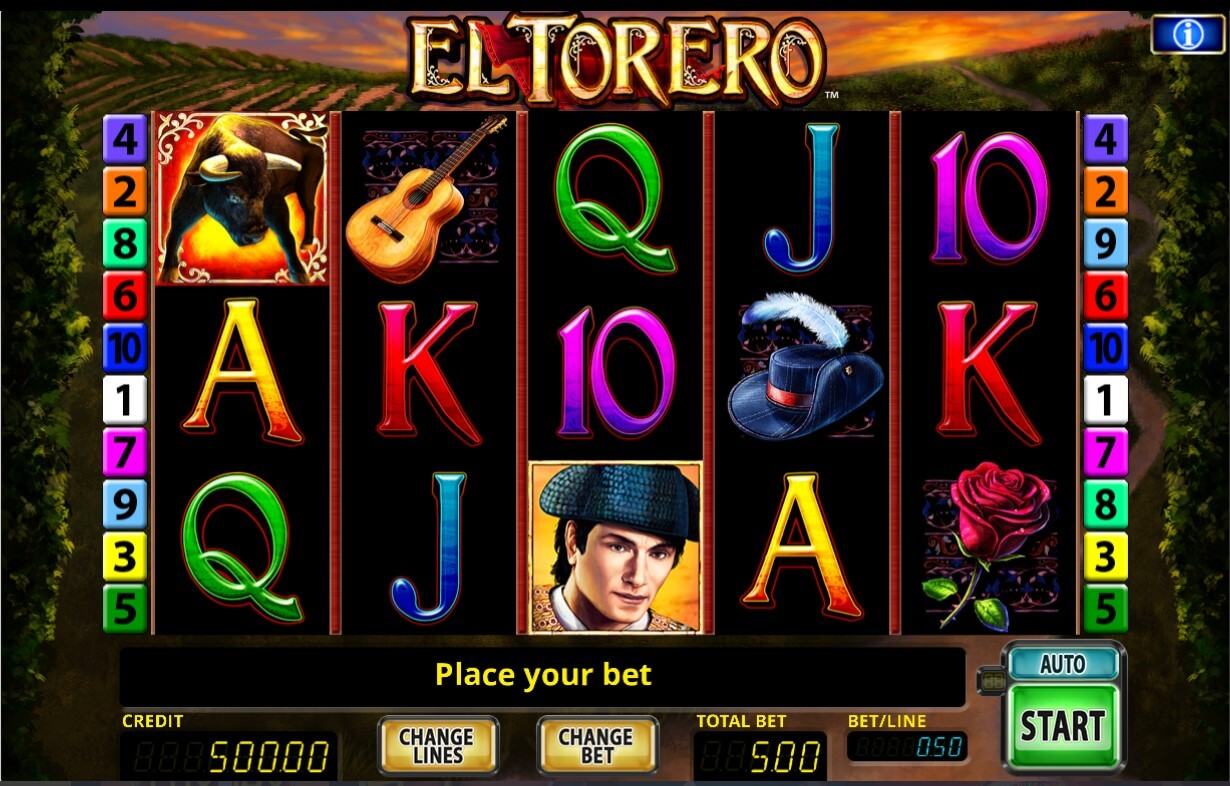 El Torero slot gameplay