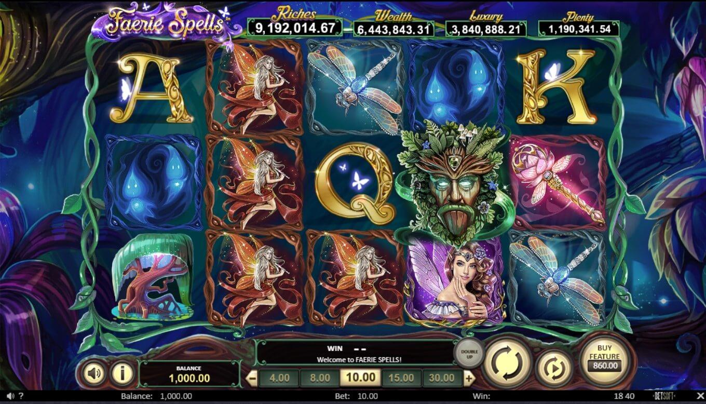 Fearie Spells slot gameplay