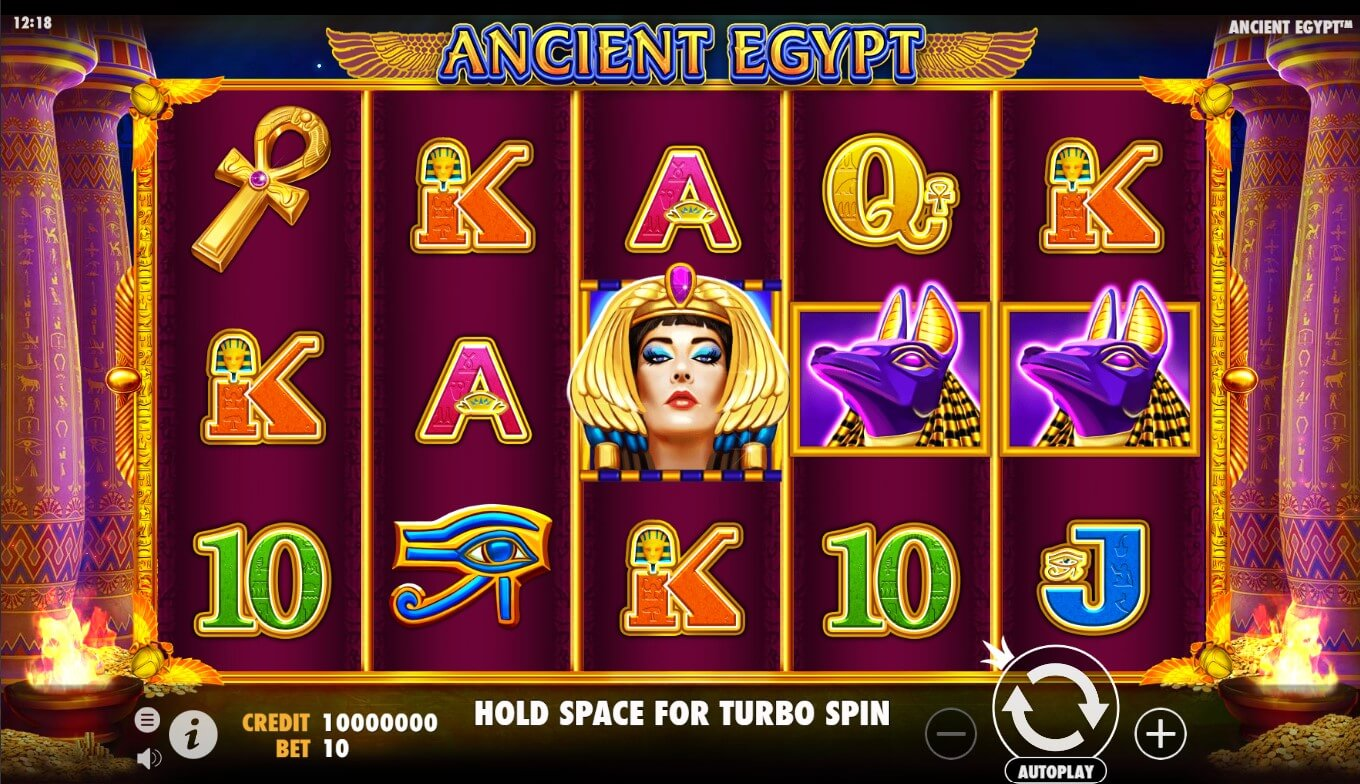 Ancient Egypt slot in game