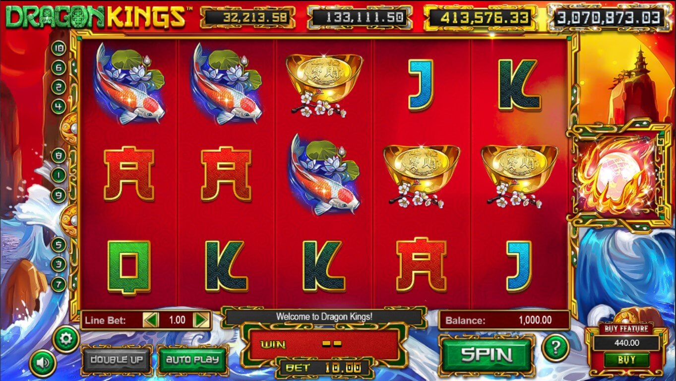 Dragon Kings slot gameplay